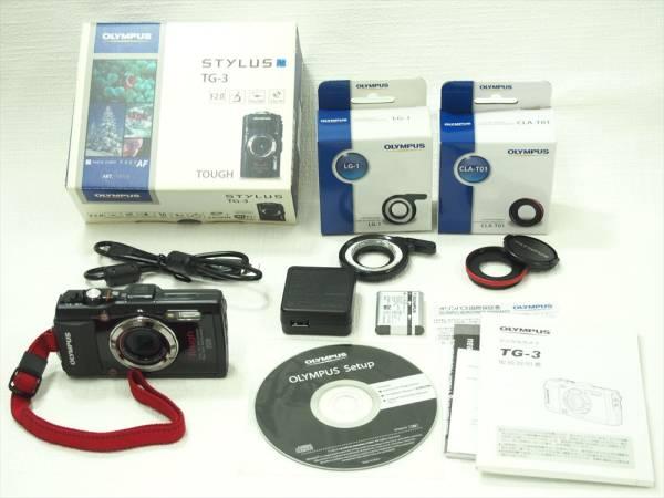 ★☆OLYMPUS デジタルカメラ STYLUS TG-3 Tough ブラック  防水・GPS 別売つき 海・マリンスポーツに☆★