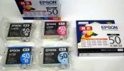 EPSON エプソン純正 プリンタインク IC50 5個