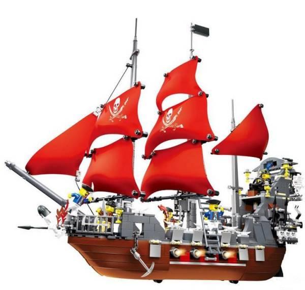 ☆ 嬉しい全額補償付き ♪♪ ☆ 【 新品 】LEGO( レゴ ) 風  パイレーツオブカリビアン 海賊船 53041 海外製品 ◆レゴブロック 互換◆