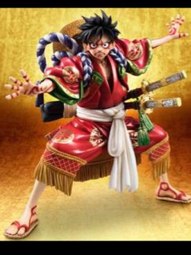歌舞伎 モンキー・D・ルフィ フィギュア 1/10 グッズの画像