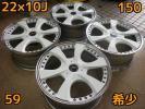 A7-16♪PCD150 ロデオドライブ CONEAL ピュアスピリッツ♪22×10J +59 ハブ110♪ランクル200等 当社にて試着可能!!