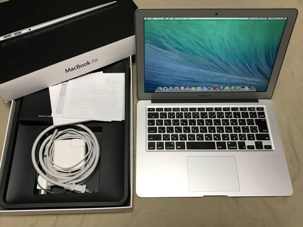 JL1707 中古品 Apple Macbook Air 13インチ MC965J/A Core i5 1.7GHz/4GB/128GB SSD (Mid 2011)
