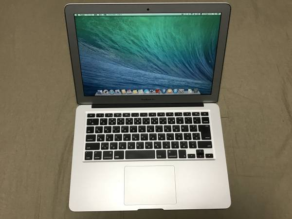 JL1707 中古品 Apple Macbook Air 13インチ MC965J/A Core i5 1.7GHz/4GB/128GB SSD (Mid 2011)_画像2