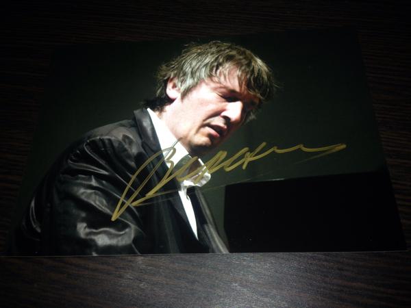 ボリス・ベレゾフスキー 直筆サイン入り写真