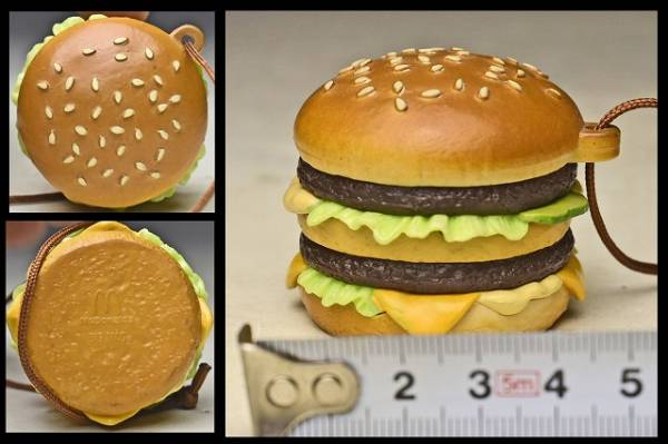 【McDonald's マクドナルド 】 ビッグマック ストラップ ハッピーセット?_画像2