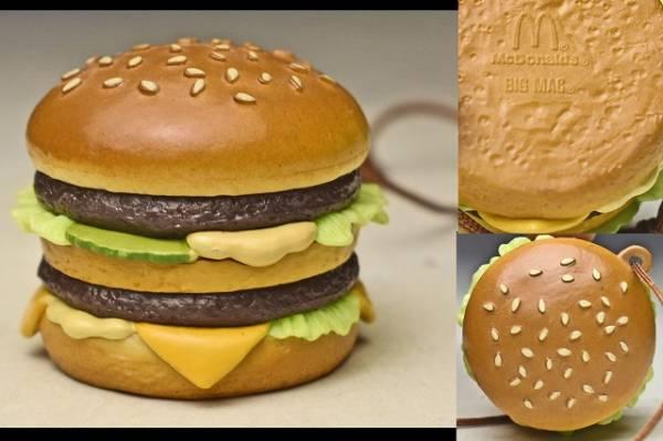 【McDonald's マクドナルド 】 ビッグマック ストラップ ハッピーセット?_画像1