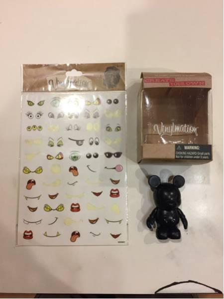 東京ディズニーランド購入、ミッキーマウスフィギュア ディズニーグッズの画像