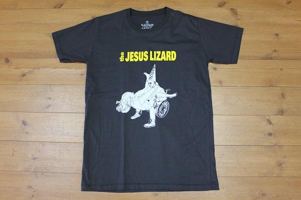 ★新品★The Jesus Lizard Tee ジーザスリザードTシャツ/チャコール/Mサイズ バンドT ロックT ハードコア
