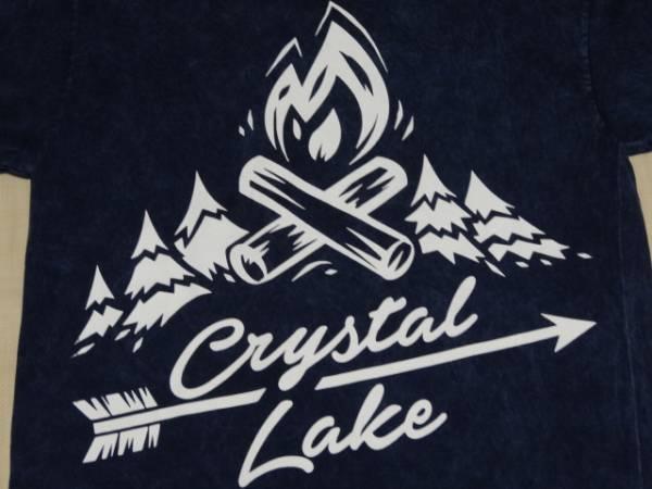新品/CRYSTAL LAKE 古着加工Tシャツ/クリスタルレイク ハードコアメタルコア