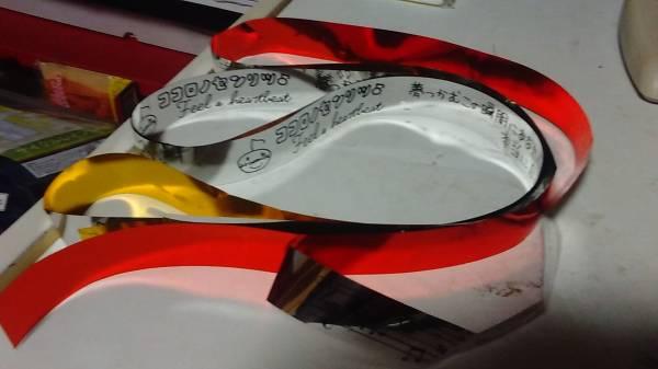 有安杏果 ココロノセンリツ 千秋楽 銀テープ+横浜アリーナ銀テープ