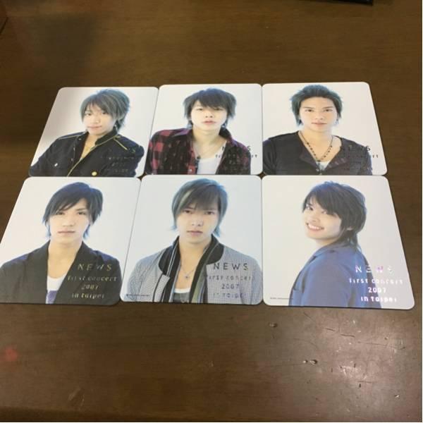 NEWS first concertポストカード