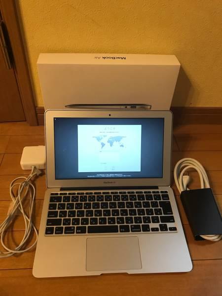 【中古美品】MacBook Air 11インチMid2012 Core i7 8GB