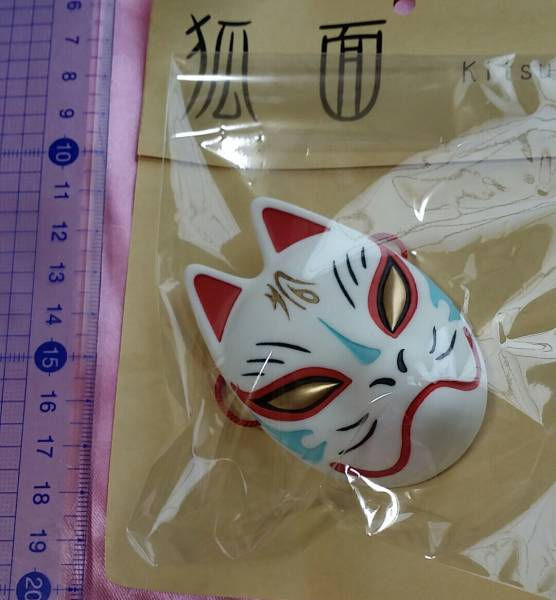 【ALBA DOLL】ドール 狐面 お面 2点セット MSDサイズ_画像2