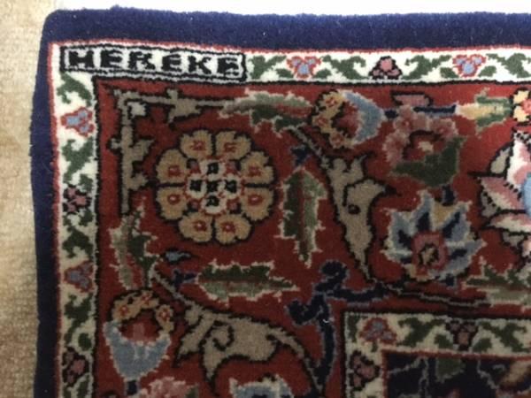 トルコの誇りへレケ絨毯是非一枚!