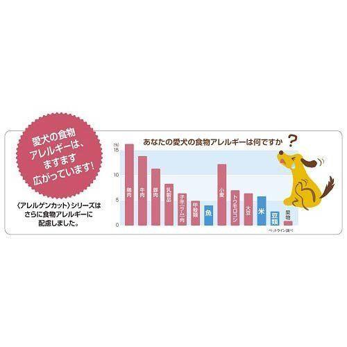 メディコート アレルゲンカット 魚&お米 1歳から 成犬用 3kg(500g×6パック)_画像3
