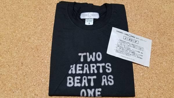 ♪GLAY TAKURO × LONE ONES ロンワンズ WネームTシャツ ノースリーブ Sサイズ 黒 ブラック♪
