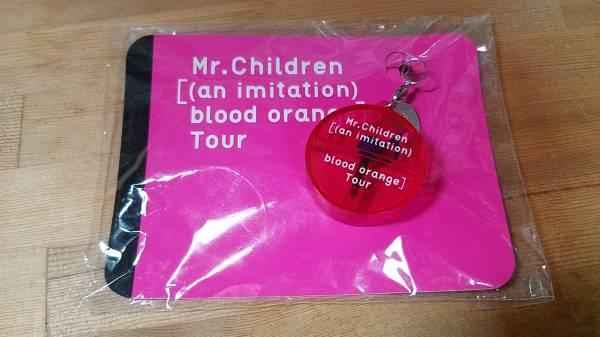 ♪Mr.Children[(an imitation) blood orange]Tour 音符 イヤホンピアスストラップ ピンク♪