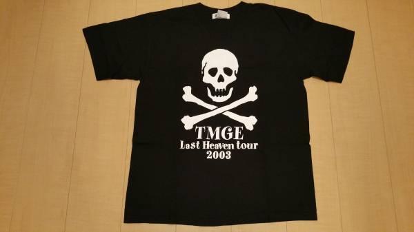 THEE MICHELL GUN ELEPHANT Tシャツ Mサイズ LAST HEAVEN TOUR 2003 黒 TMGE チバユウスケ ミッシェルガンエレファント