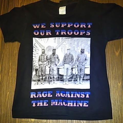 ロックTシャツ★RAGE AGAINST THE MACHINE
