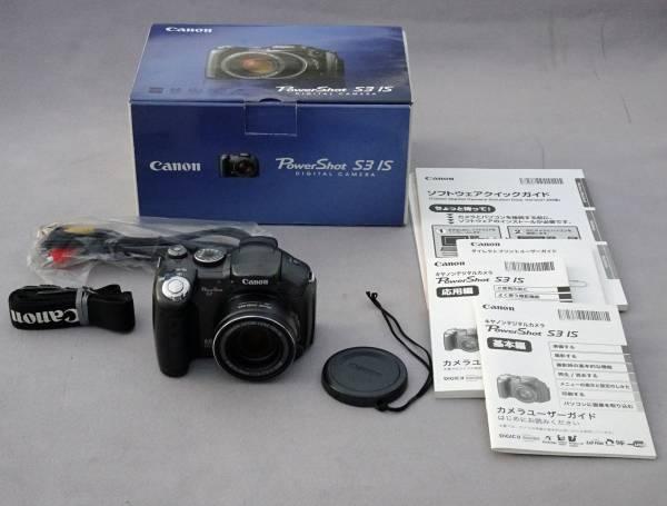 Canon ★ キャノン PowerShot S3 IS 12倍ズーム