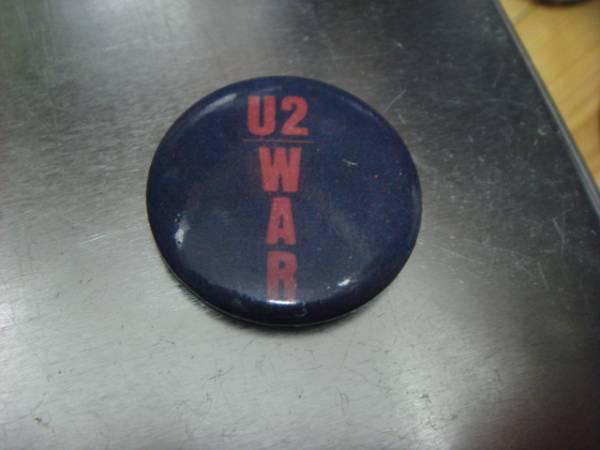 ビンテージ80's デッドストックU2 WAR缶バッチOLDオールド ピンズ