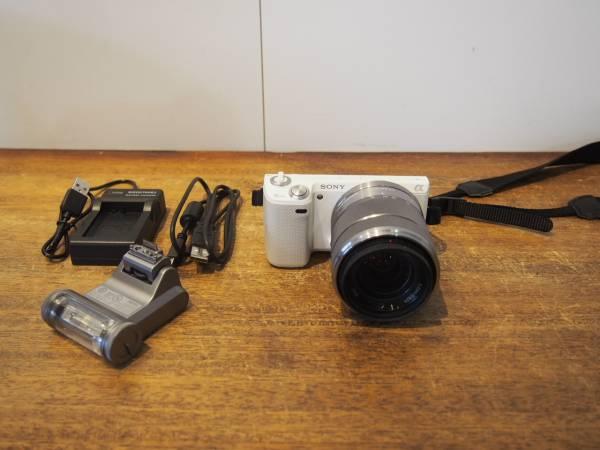 SONY ソニー ミラーレス一眼 デジカメ NEX-5N 綺麗 動作確認済み 18-55mmのレンズ付き
