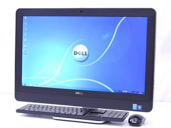 23型FHD!! OptiPlex 9020 AiO i7-4770S 4コア8スレ 8GB 500GB DVDRW WLAN Office Win7リカバリ