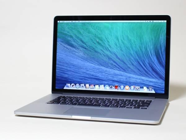 充放電回数10回 超美品 APPLE MacBook Pro A1398 (Retina,15-inch,Late 2013)■2GHz Core