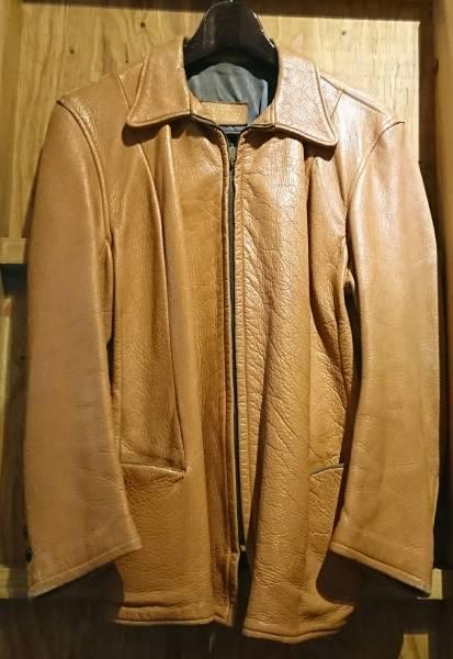 60s vintage deer skin ヴィンテージ ディアスキン 鹿革 レザージャケット エルク