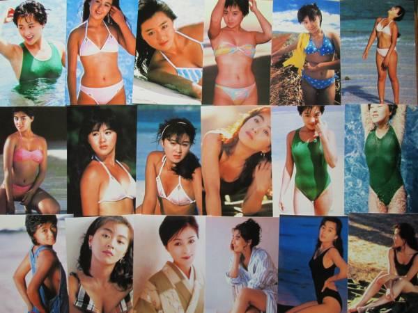 ≪長山洋子≫ まとめ売り L判写真 32枚セット