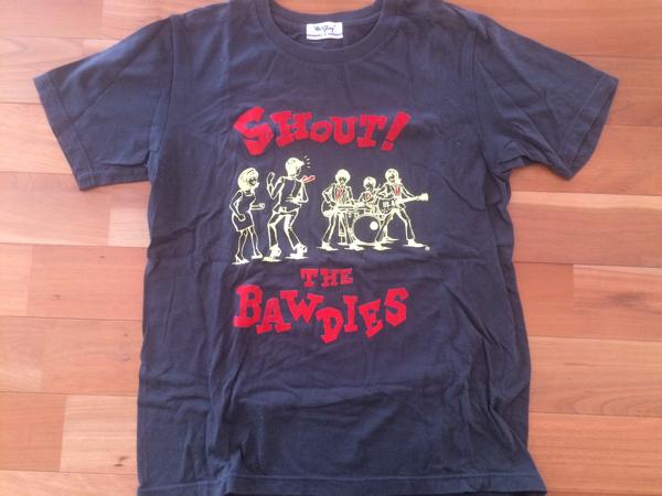 即決☆THE BAWDIES Tシャツ サイズM★ガレージロックンロール ストレイキャッツ ライブグッズの画像