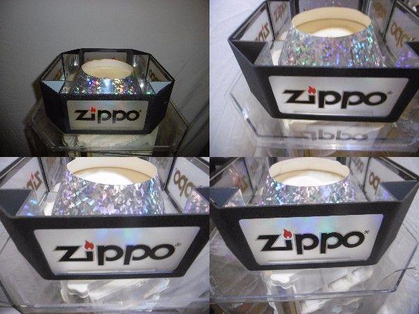 Zippo ショーケース 店頭 ディスプレイ コレクターケース ライター コレクション展示 一面に5段×3個 の4面 60個展示可能 ジャンク_画像2