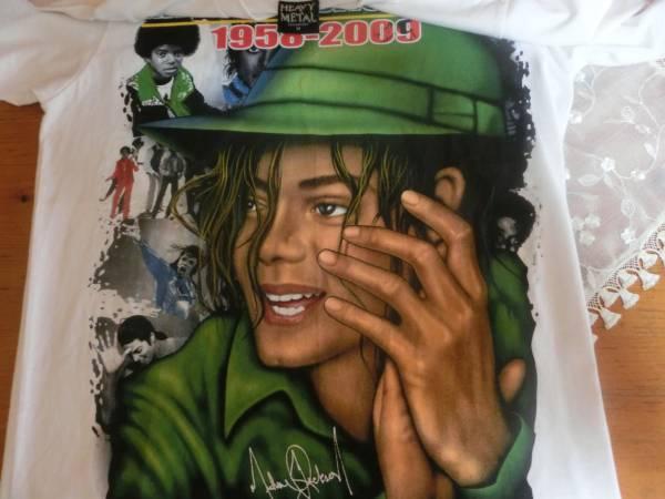 マイケルジャクソン 1958-2009 Tシャツ HEAVY METAL サイズM 未使用 ライブグッズの画像