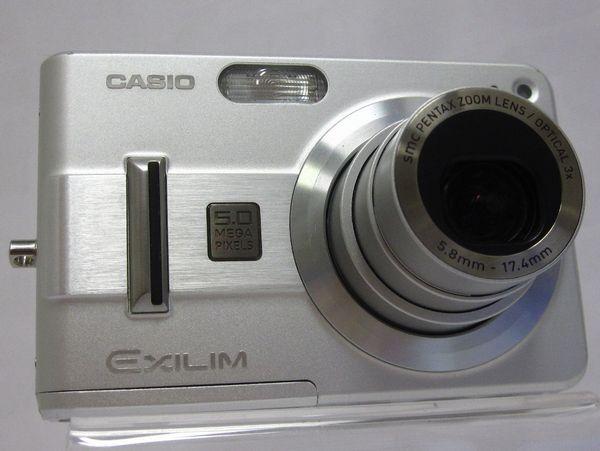 CASIOカシオ EXILIMエクシルム EX-Z57 シルバー 525万画素お安くどうぞ