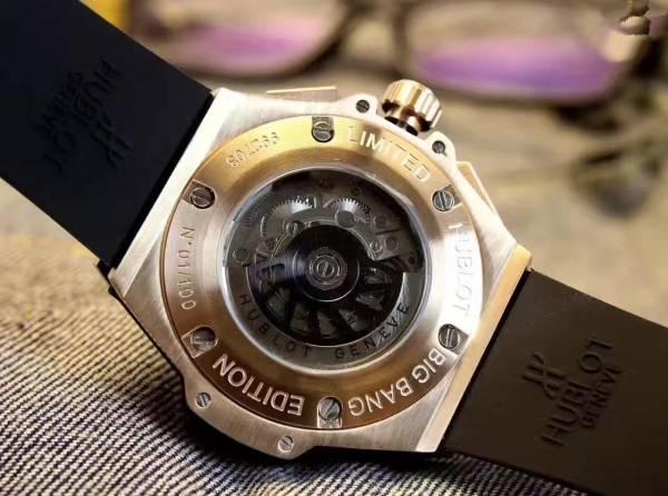 新品 ウブロ HUBLOT 自動巻き ウォッチ メンズ 男性腕時計_画像3
