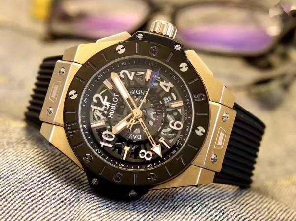 新品 ウブロ HUBLOT 自動巻き ウォッチ メンズ 男性腕時計