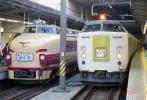 【鉄道写真】クハ481-32『さよならひたち』&クハ481-315『ひたち』 [9001312]
