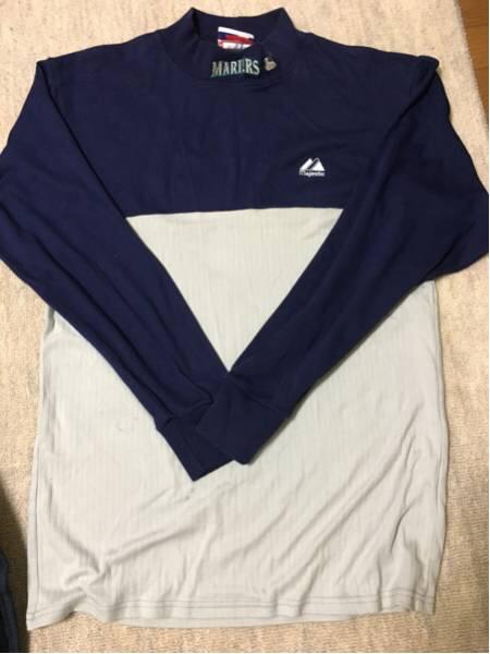 マリナーズでイチロー選手の実使用アンダーシャツ グッズの画像