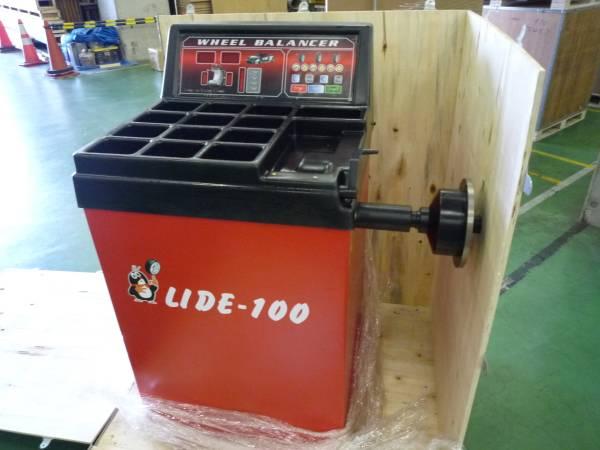「卸売り ホイールバランサーウエイト貼り付け自動照準機能付 CE認証取済み品 24インチ対応 100V (タイヤチェンジャー)」の画像