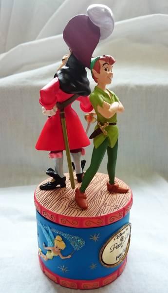 Disney・ピーターパン【リミテッドウォッチ】腕時計1000点限定シリアルナンバー入り・フィギュアBOX付き・未使用・ディズニーストア購入 ディズニーグッズの画像