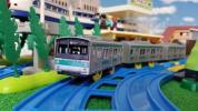 【プラレール】通勤電車 エメラルドグリーン 205系 埼京線