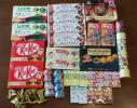 お菓子 セット☆ルック チョコレート チョコボール ぷっちょ 仮面ライダーチョコ など
