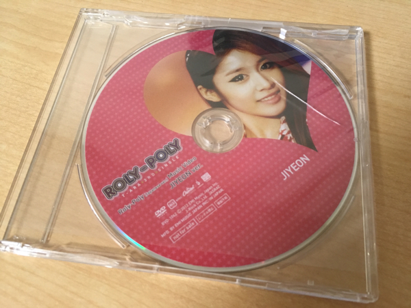 T-ARA ROLY POLY 特典DVD ジヨン Ver. 開封品 ライブグッズの画像