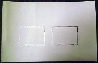 ★記念切手小型シート★万国郵便連合加盟100年★100円+50円★_画像2