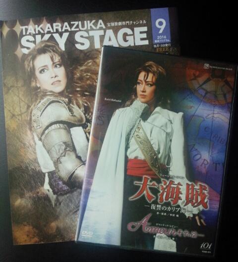 宝塚歌劇星組 大海賊 復讐のカリブ海 DVD 北翔海莉 妃海 風 礼真琴 Amourそれは 美品