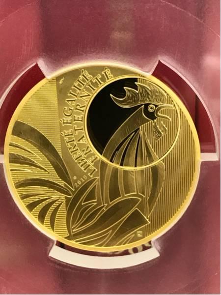 2015年 フランス 5000ユーロ 大型金貨 完全無欠唯一鑑定PR70DCAM_画像3