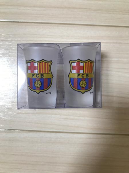 ショットグラス FCバルセロナ グッズの画像