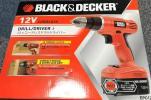 新品保証有 ブラックアンドデッカー 12Vコードレスドリルドライバーセット EPC12-JP 充電式 24段階 クラッチ キーレスチャック