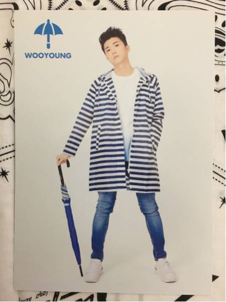 2016 JYP NATION ウヨン(wooyoung) トレカ④