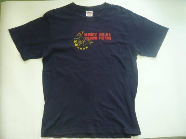 NAVY SEAL TEAM4 Tシャツ シールズ特殊部隊NSWパナマ侵攻OIF OEF